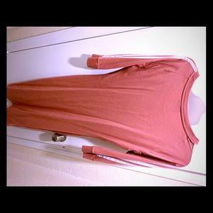 Adidas mid sleeve shirt dress.